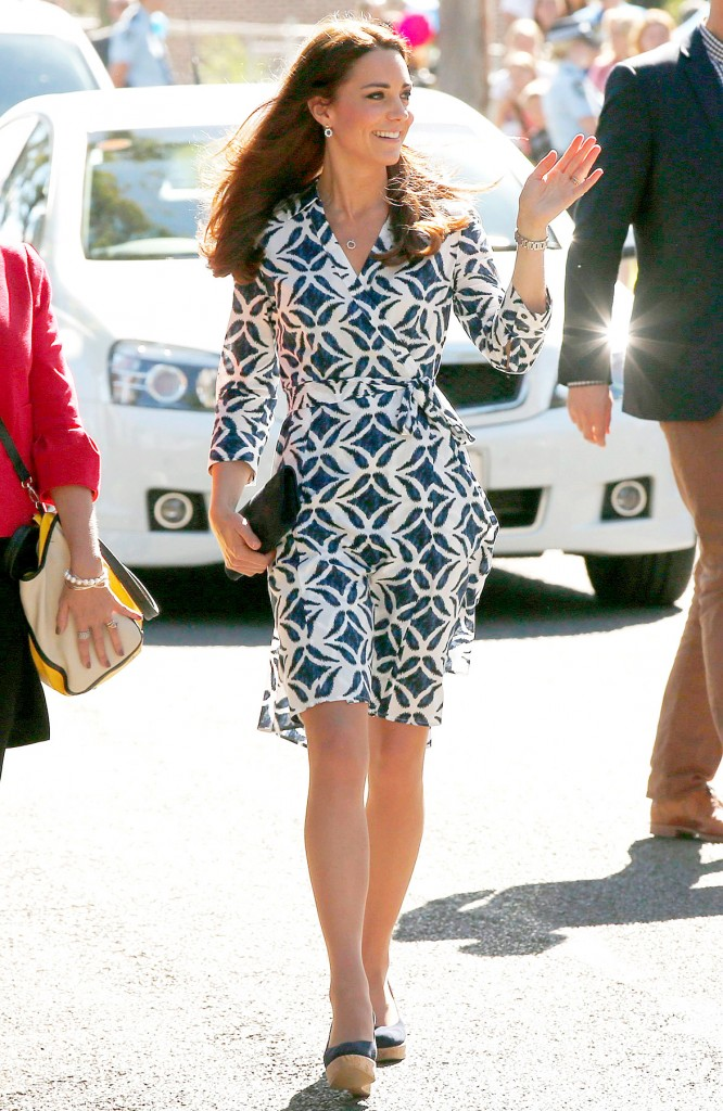 07 kate middleton printed dress