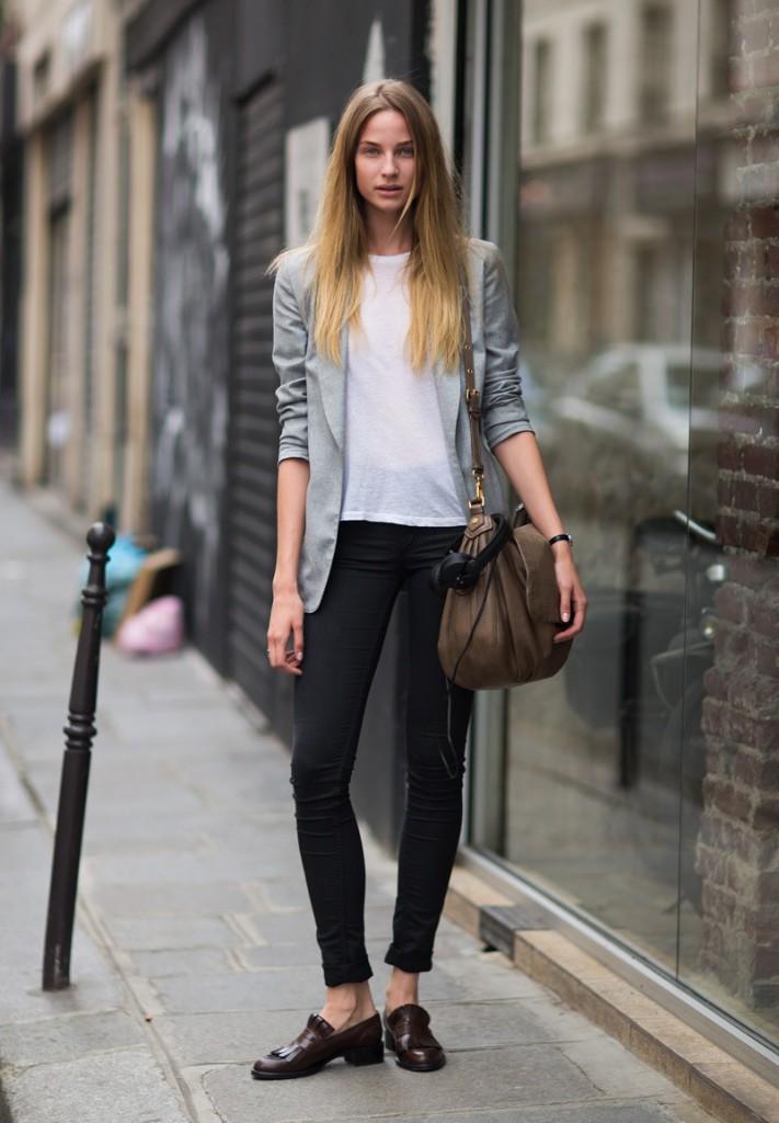 09 model black pants