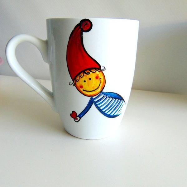 Santa_Elf mug_set