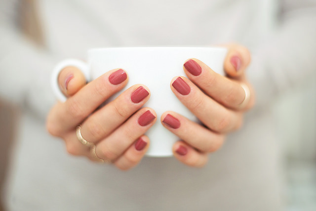 m-klasan,341-365-in-stitches,girl-hands-nails-holding-cup-white-coffee-rings-fingers-manicure